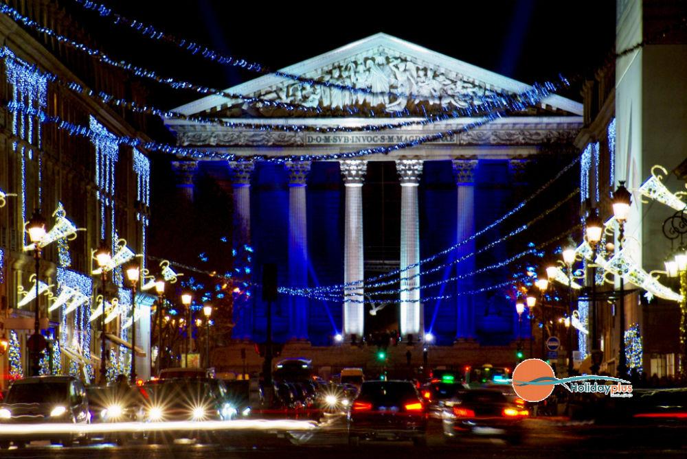 Предколеден Париж - градът на светлината в предпразнична треска - част 1