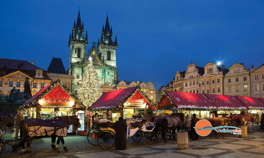 Предколедна Прага - градът на 100-те златни кули в предпразнична треска - част 2