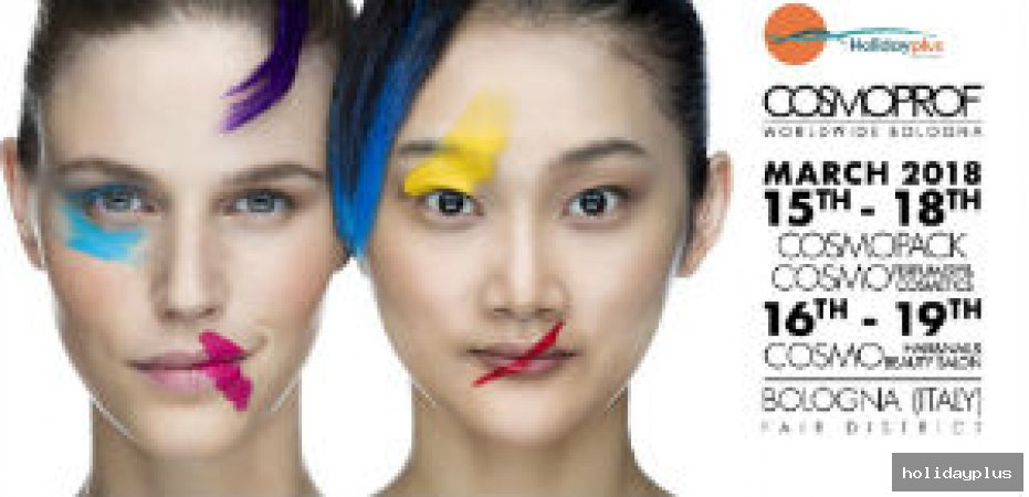 Вдъхновение, козметика и красота - COSMOPROF Болоня 2018 - част 2