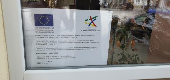 Европейски съюз- Подкрепа за МСП